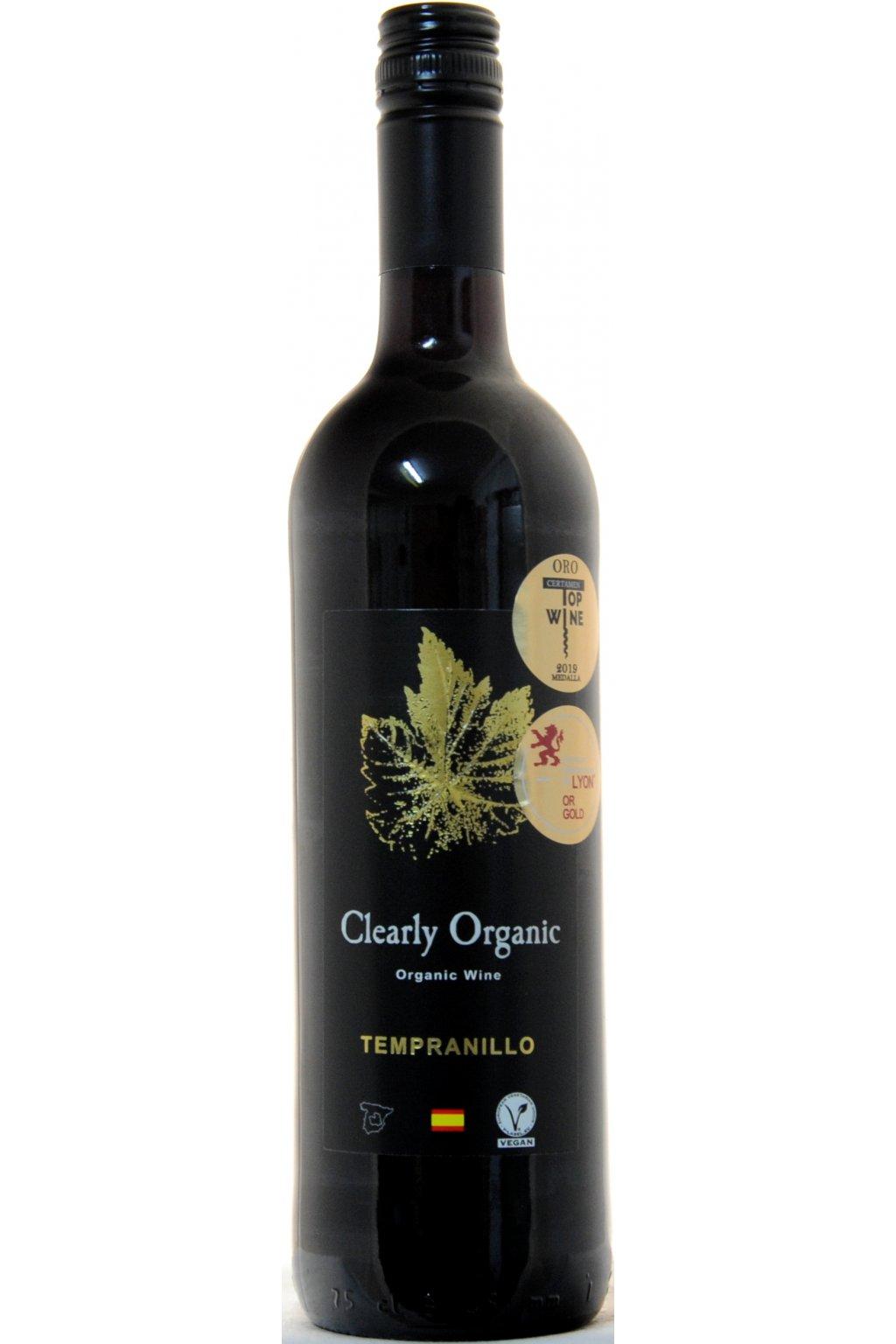LATUE Clearly Organic Tempranillo 2018 F