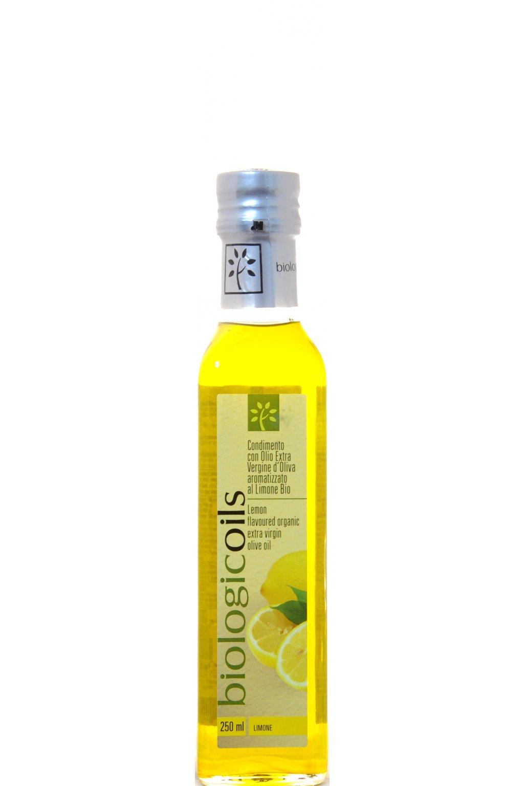 BiologicOils Organic Extra Virgin Olive Oil Lemon F