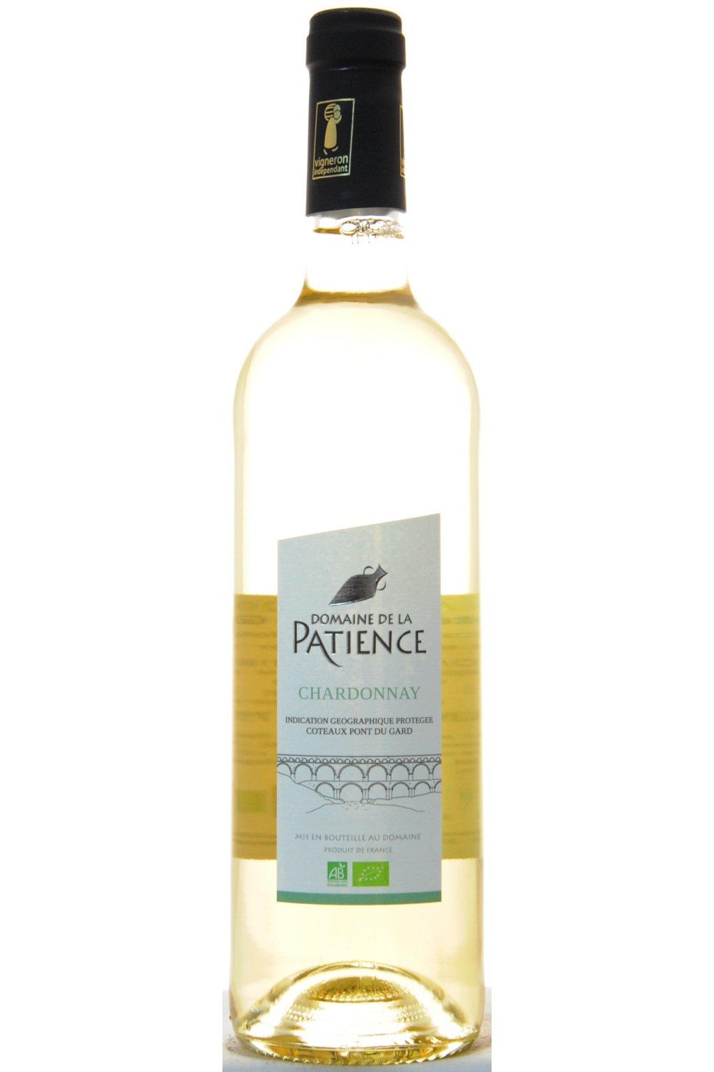 PATIENCE IGP CPG blanc Chardonnay 2020 F