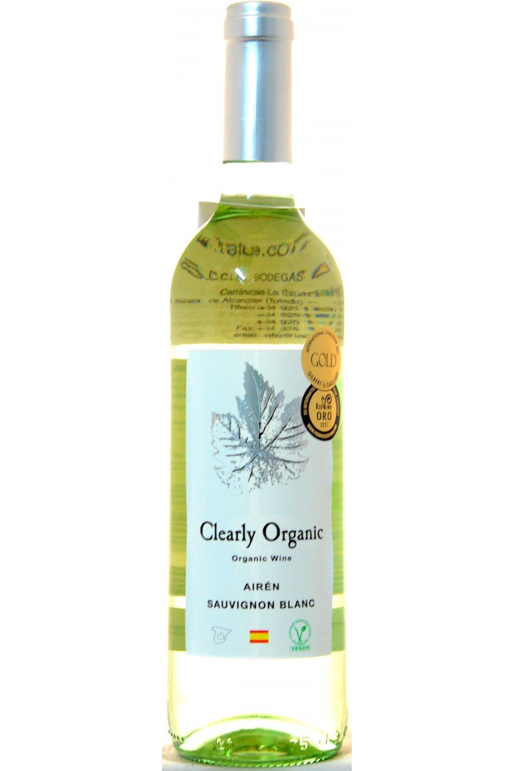 Clearly Organic Airen Sauvignon Blanc 2020 F