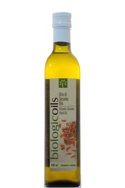 BiologicOils Organic Sesame Seed Oil F