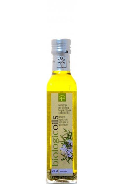 BiologicOils Organic Extra Virgin Olive Oil Rosemary F