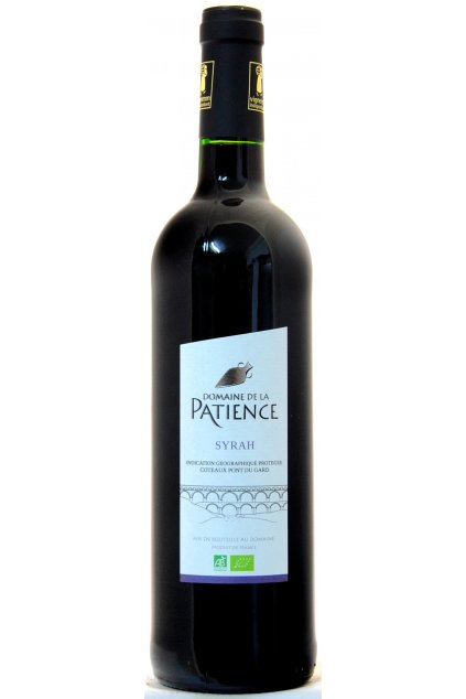 PATIENCE IGP CPG rouge Syrah 2019 F