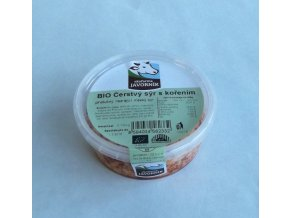 Bio čerstvý sýr s kořením 130 g