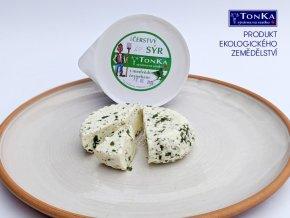 Bio čerstvý sýr s bylinkami 130 g