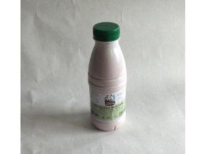 Bio jogurtové mléko malina