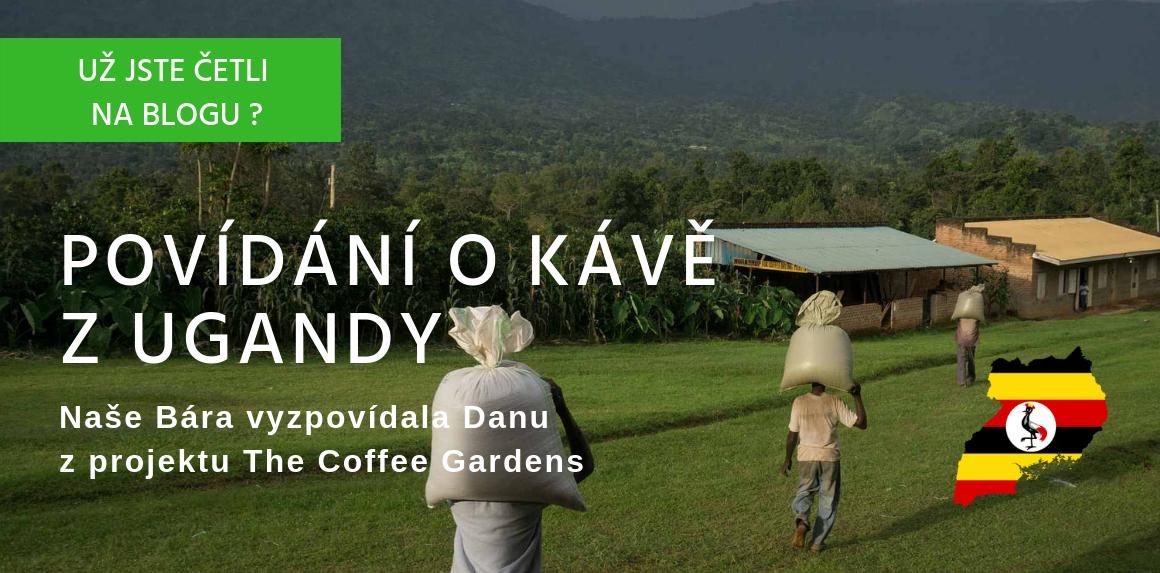 Povídání o kávě z Ugandy