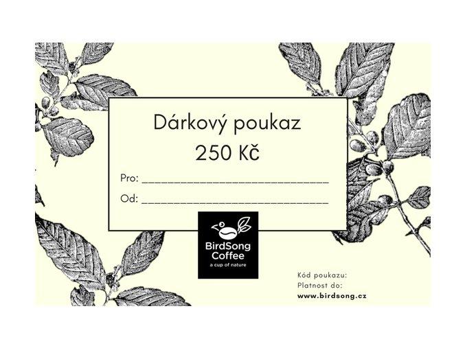 darkovy poukaz 250