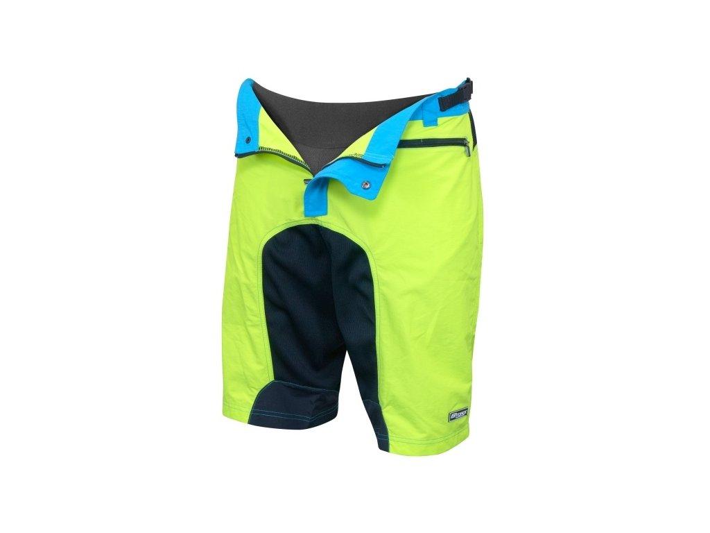 Cyklistické kalhoty Force MTB-11 fluo - Birotarius c23a09d582