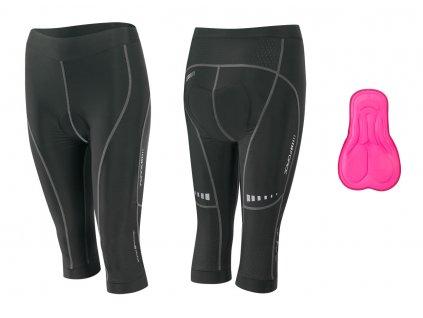 cyklistické kalhoty dámské tříčtvrteční