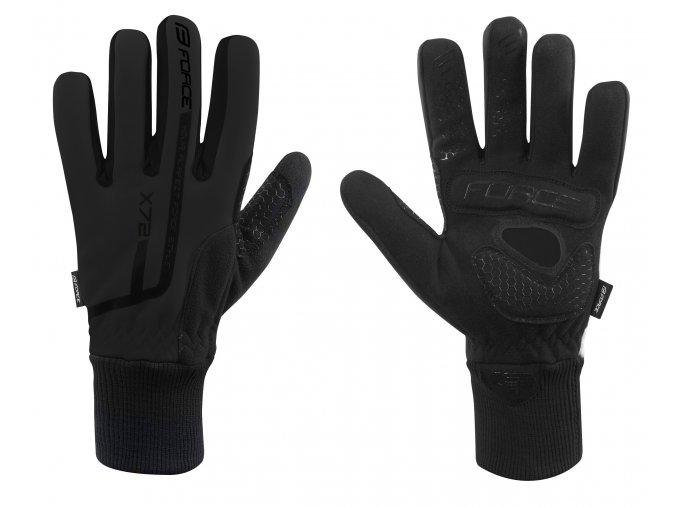rukavice Force X72 černé