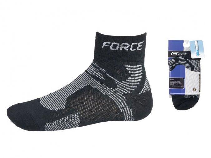 Ponožky Force černo-šedé