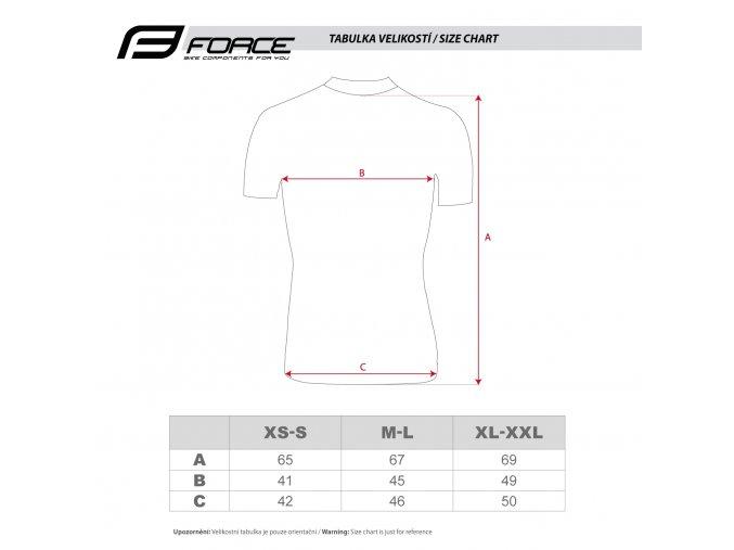 Funkční triko Force Wind