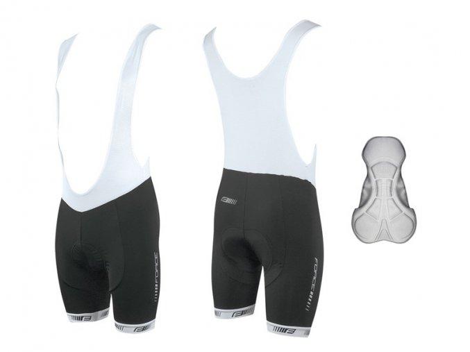 cyklistické kalhoty force b38
