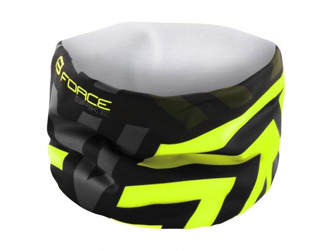 šátek Force Spike černo fluo