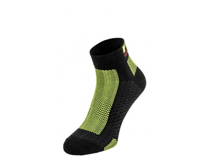 ponožky R2 Easy černo fluo