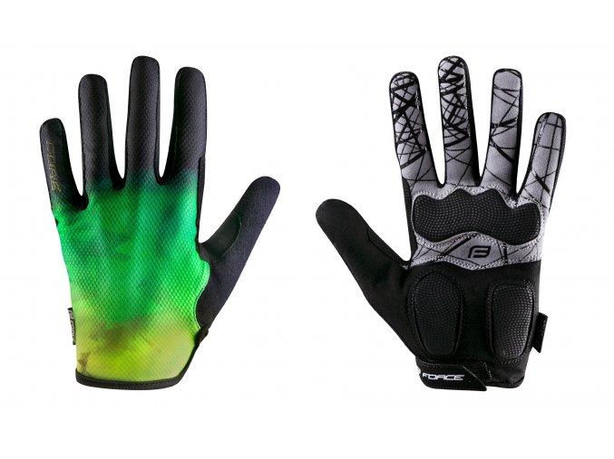 rukavice Force Core fluo zelené