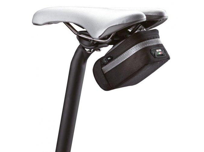 podsedlová brašna Scicon Soft 350 Cordura černá