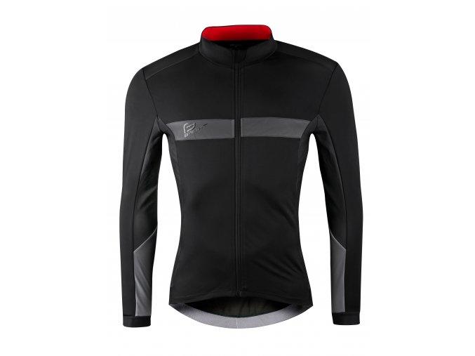 bunda Force Bright zimní černá