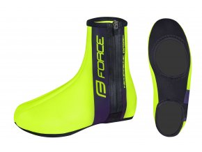 návleky na tretry Force Neopren Basic fluo