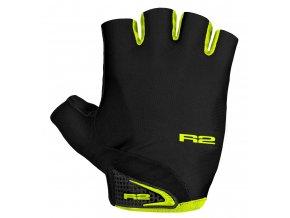 rukavice r2 riley černo fluo