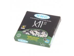 řetěz kmc X11.93 silver black