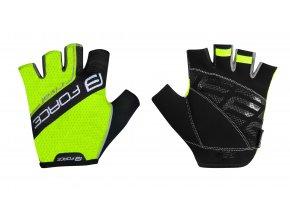 rukavice Force Rival fluo černé