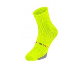 ponožky R2 Endurance neon žluté