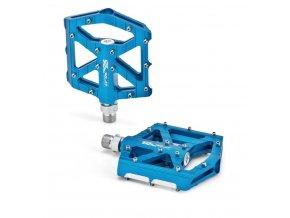 platformové pedály XLC PM M12 modré