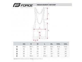 cyklistické kalhoty force b40 fluo