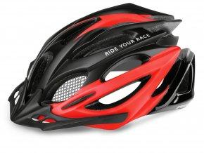 helma R2 Pro tec černo červená