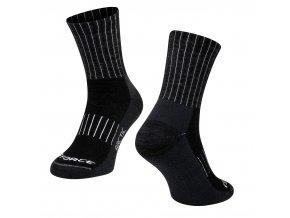 ponožky Force Arctic černo bílé