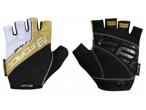 rukavice Force Rival černo zlaté