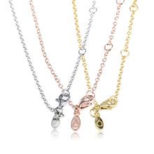 Jednoduchý náhrdelník štýl Pandora bez koráliek