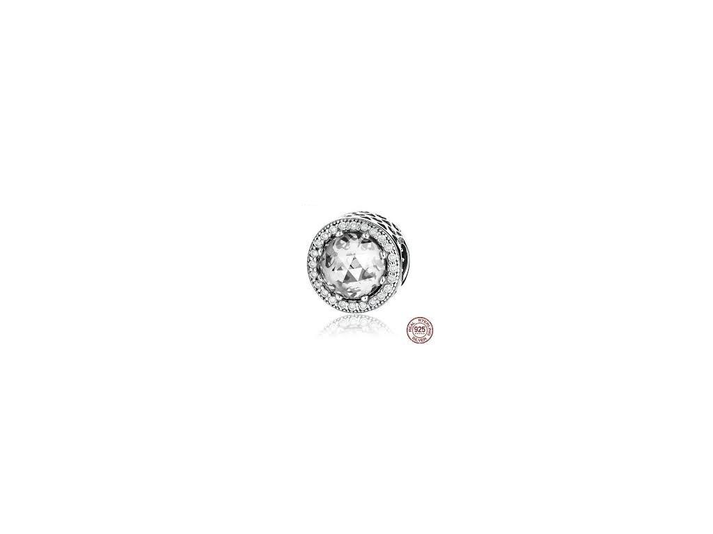 1480 1 strieborna 925 koralka styl pandora moonlight