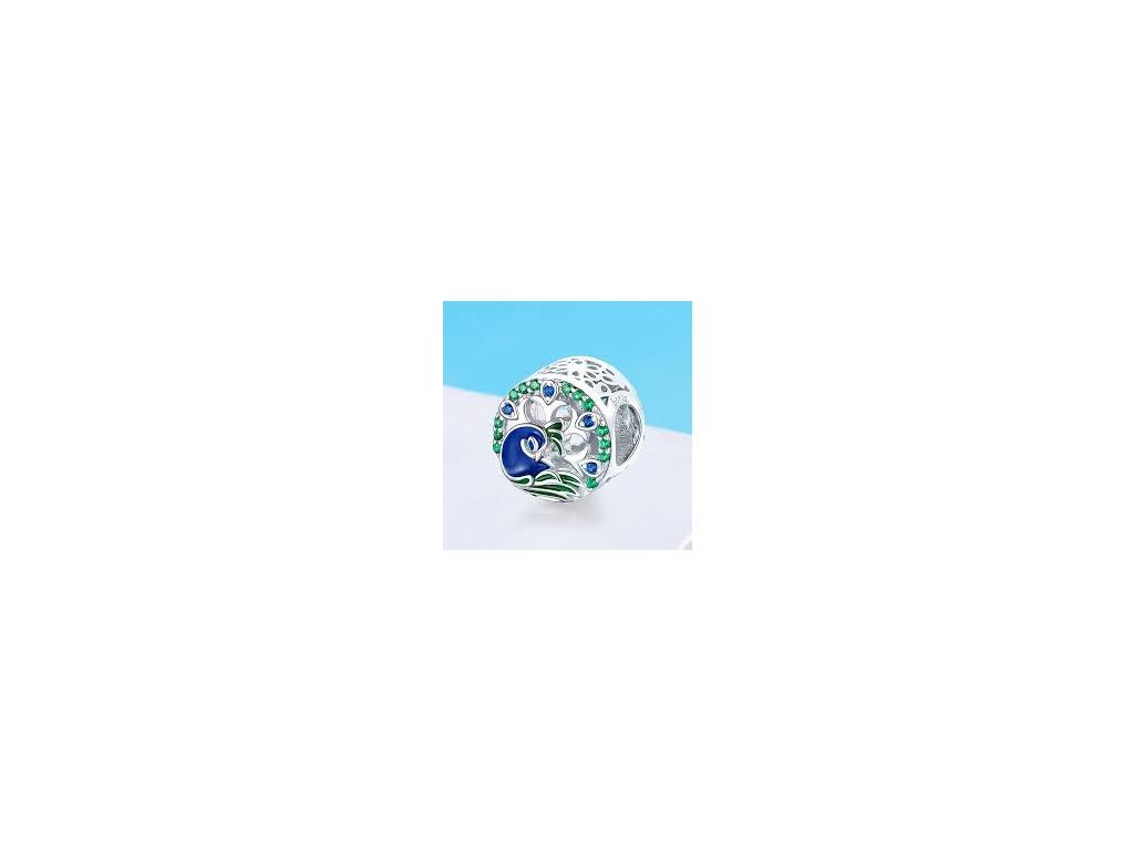 2170 strieborna 925 koralka styl pandora pav