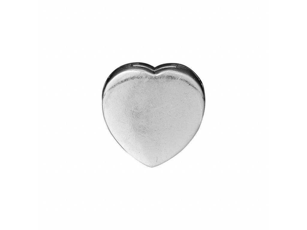 3115 strieborna 925 koralka styl pandora reflections srdce