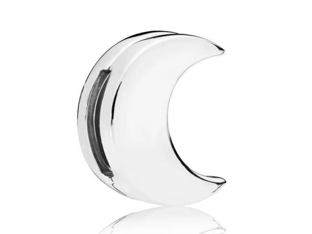 Strieborná 925 korálka štýl Pandora reflections mesiac