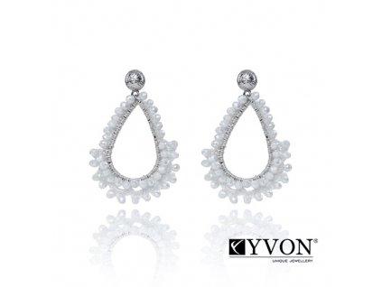 6400 3 damske krystalove svadobne nausnice v tvare slzy