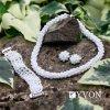 8146 damsky svadobny set v style glamour luxusny trojkombinacia