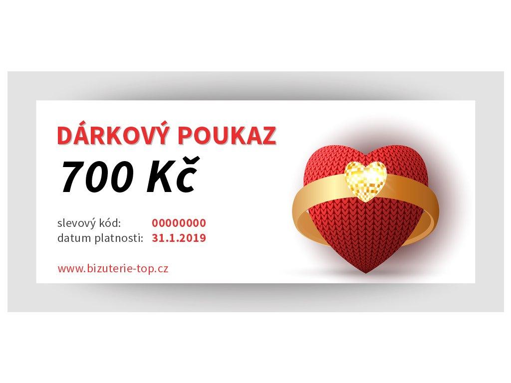 darkovy poukaz 700