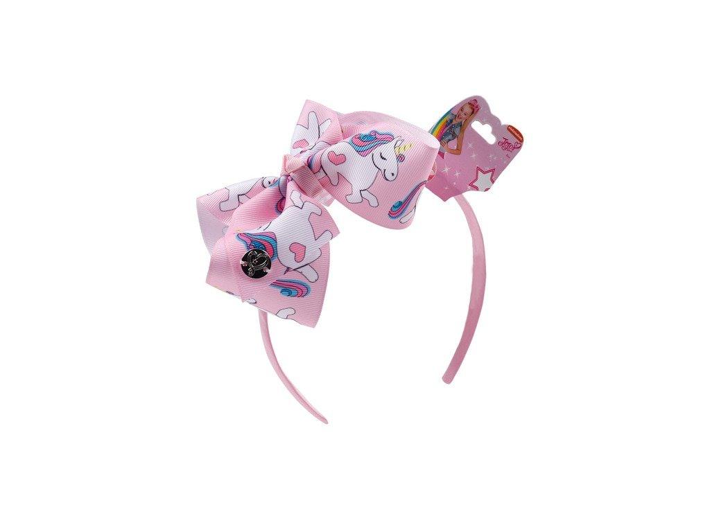 Čelenka do vlasů UNICORN S MAŠLÍ - růžová - Bižuterie TOP CZ 49d3d97a7e