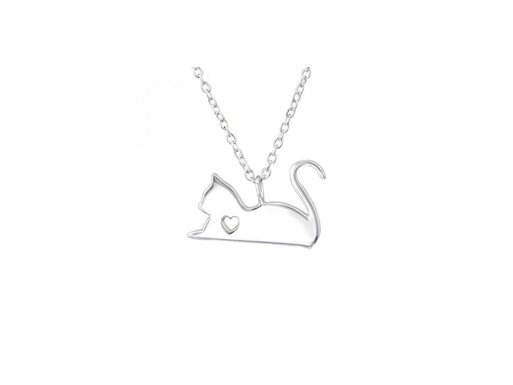 7235e59f1 Stříbrné náhrdelníky - Bižuterie TOP CZ