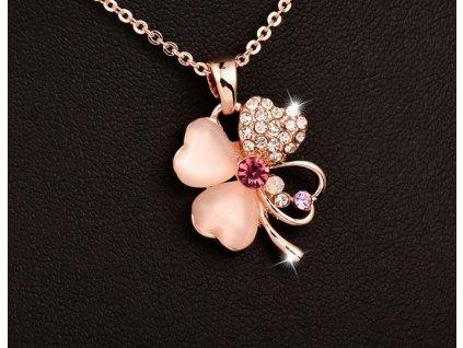 náhrdelník Sinly opál 11