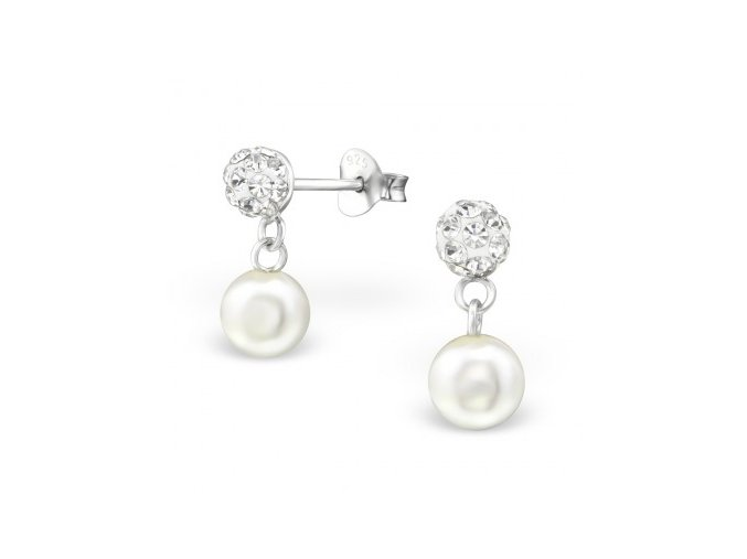 náušnice perla