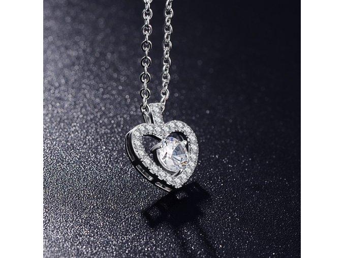 náhrdelník srdce