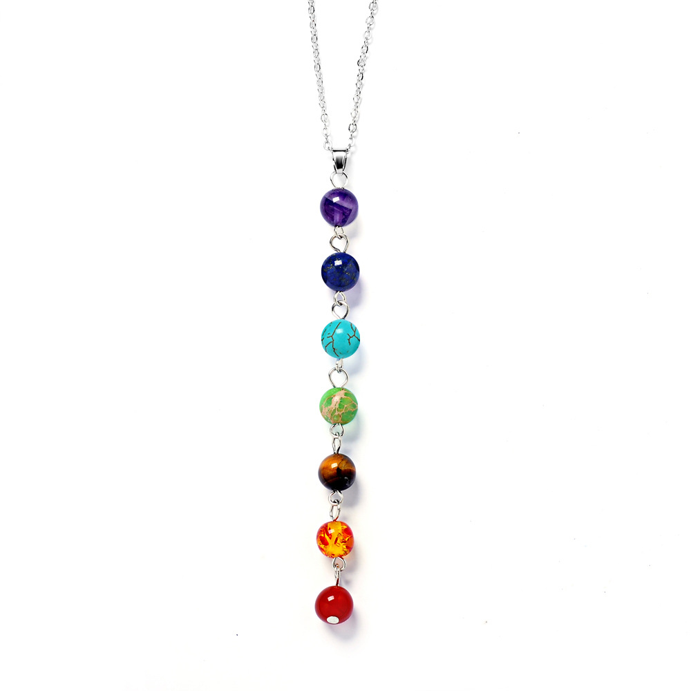 B-TOP Čakrový náhrdelník s korálky Pray Mala