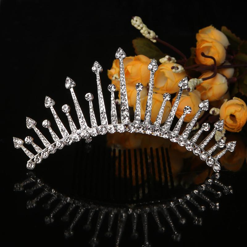 9a082125b82 B-TOP Svatební hřeben do vlasů DIAMANTE - stříbrná