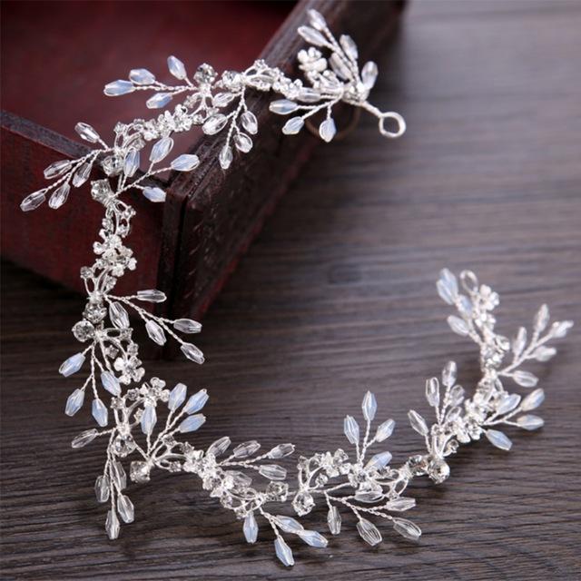 642f25c85fd B-TOP Svatební čelenka do vlasů s krystaly 62114