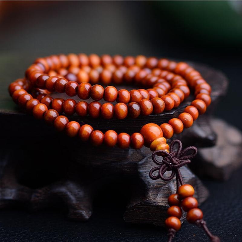 B-TOP Modlitební náramek MALA - oranžový